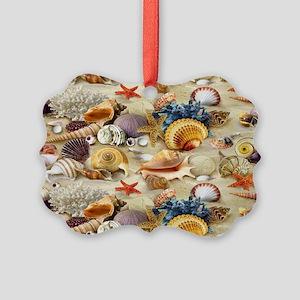 Seashell Picture Ornament
