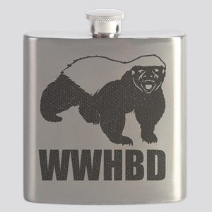 What Would Honey Badger Do Flask