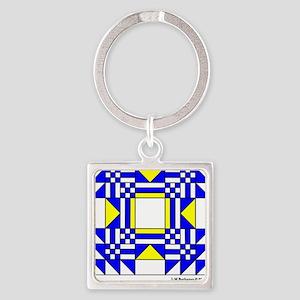 Ornament O Nebraska V-193 copy Square Keychain