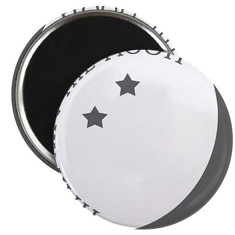 Hanging the Moon Grey Logo Magnet