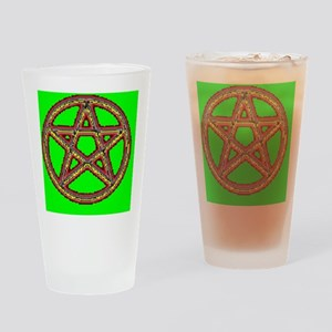 Round Car Magnet Drinking Glass