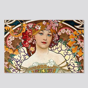Mucha Postcards (Package of 8)