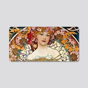 Mucha Aluminum License Plate