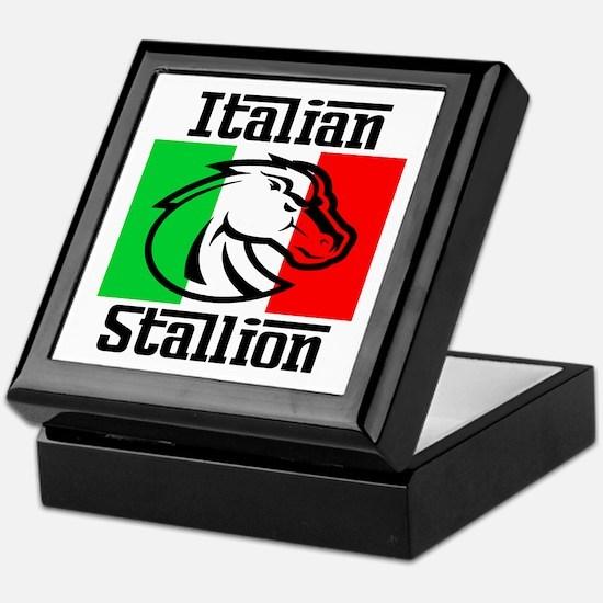 Italian Stallion Keepsake Box