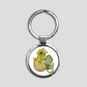 Obscenely Cute Dragon Keychain