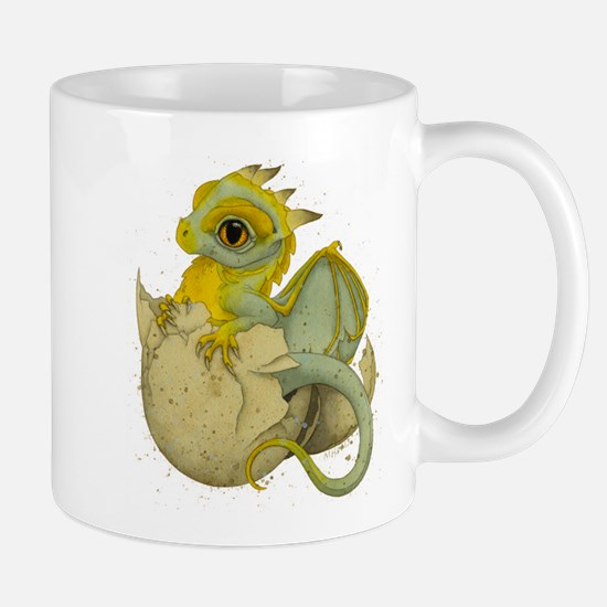 Obscenely Cute Dragon Mug