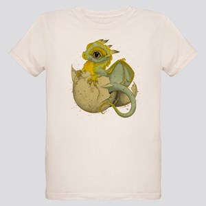 Obscenely Cute Dragon Organic Kids T-Shirt