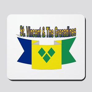 St Vincent & The Grenadines Mousepad