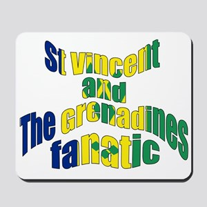 St Vincent And The Grenadines Fanatic Mousepad