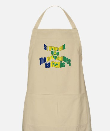 St Vincent and the Grenadines fanatic BBQ Apron