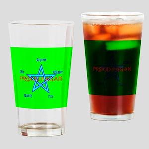 snowflake_ornament Drinking Glass