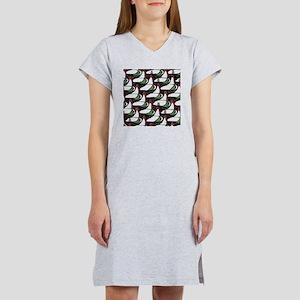 C R Mackintosh Abstract Women's Nightshirt