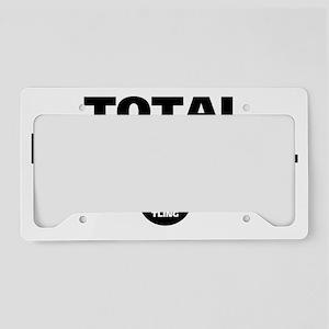 Total babyface. License Plate Holder