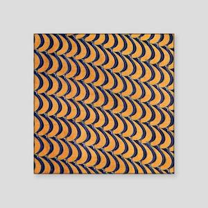 "C R Mackintosh Abstract Square Sticker 3"" x 3"""