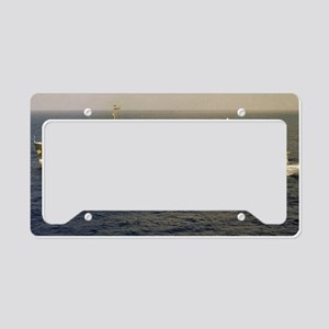 yellowstone 41 large framed p License Plate Holder