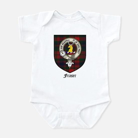 Fraser Clan Crest Tartan Infant Bodysuit