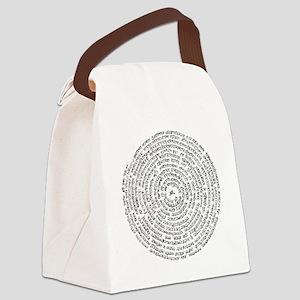 Samadhi Pada Canvas Lunch Bag