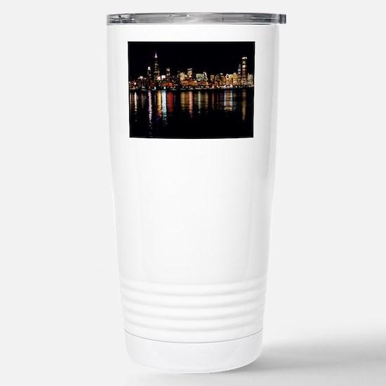Neon Stainless Steel Travel Mug