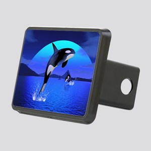 orca_pillow_case Rectangular Hitch Cover