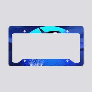 orca_pillow_case License Plate Holder