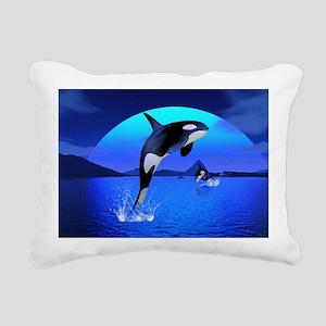 orca_pillow_case Rectangular Canvas Pillow
