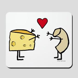 Macaroni and Cheese Love Mousepad