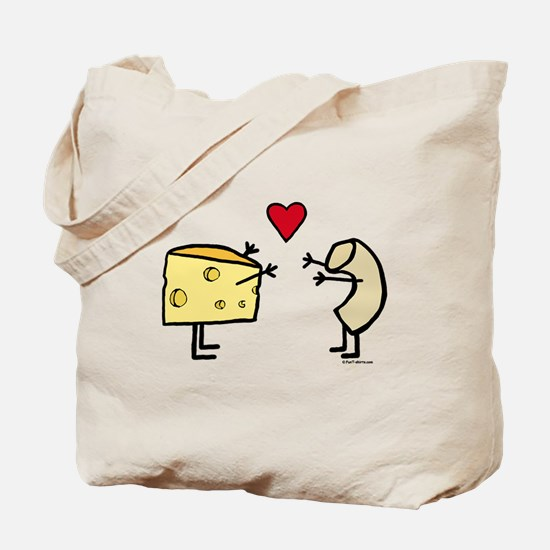Macaroni and Cheese Love Tote Bag