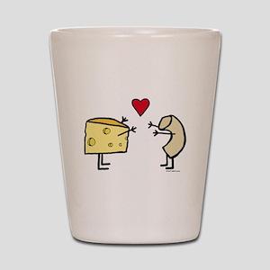 Macaroni and Cheese Love Shot Glass