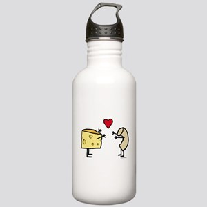 Macaroni and Cheese Lo Stainless Water Bottle 1.0L