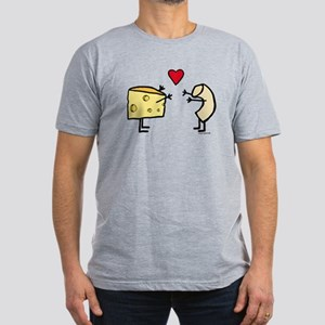 Macaroni And Cheese Lo Men's Fitted T-Shirt (d