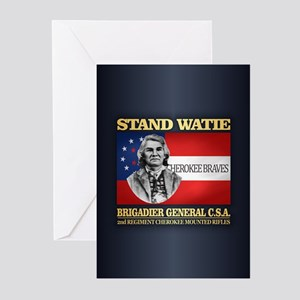 Stand Watie Greeting Cards