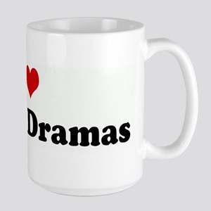 I Love Korean Dramas Mugs