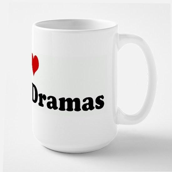 I Love Korean Dramas Mugs