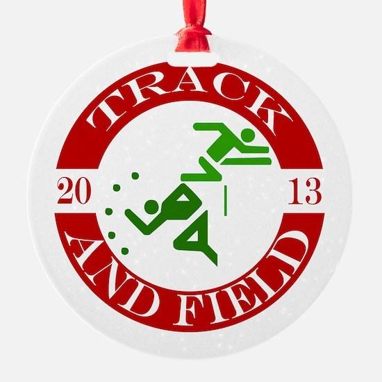 Track & Field - 2013 Ornament