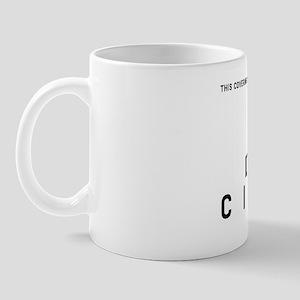 Left Hand Citizen Barcode, Mug