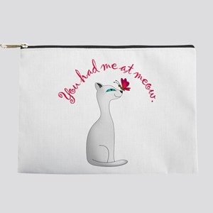 You Had Me Makeup Pouch