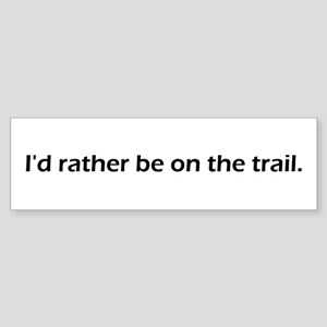 Trail Bumper Sticker