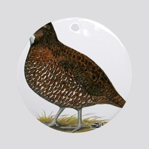 Tennessee Red Quail Ornament (Round)