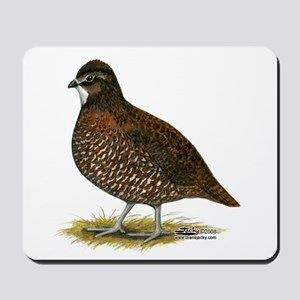 Tennessee Red Quail Mousepad