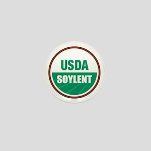 USDA Soylent - Mini Button