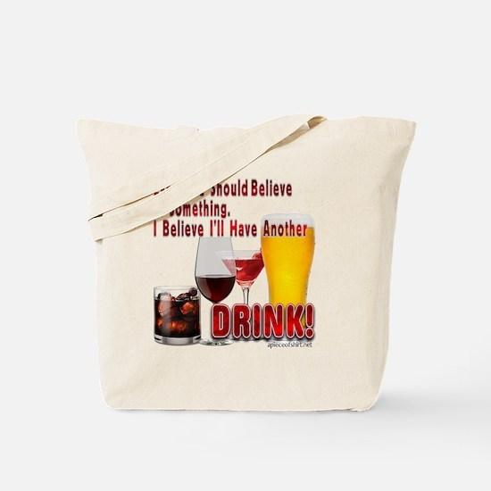 Cute Irish wine Tote Bag