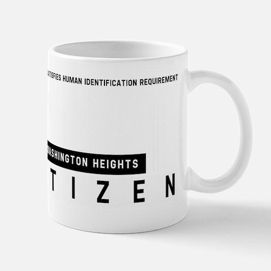 Washington Heights Citizen Barcode, Mug