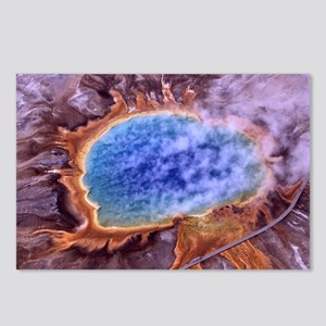 Grand Prismatic Spring Postcards (Package of 8)