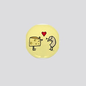 Macaroni and Cheese Love Mini Button