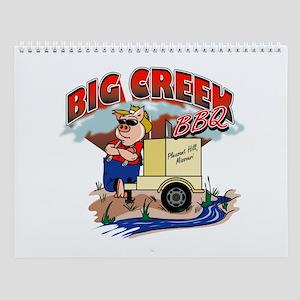 Big Creek BBQ 2007 Wall Calendar
