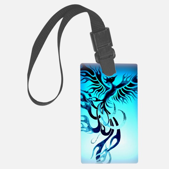 Blue Phoenix 2 Luggage Tag