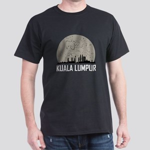 Kuala Lumpur Full Moon Skyline T-Shirt