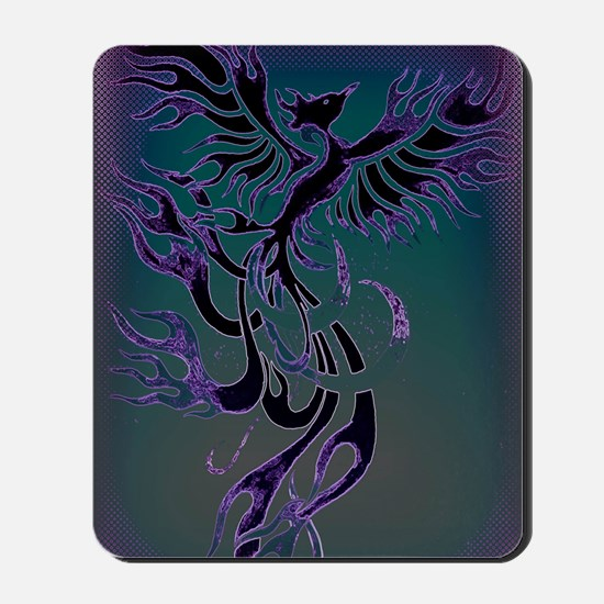 Blue Phoenix Mousepad