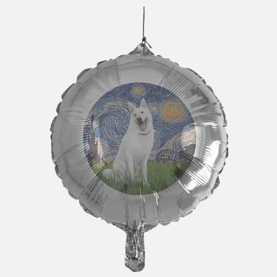 white german shepherd Balloon