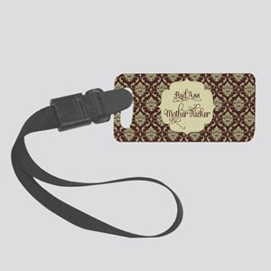 Bad Ass Mother *ucker Small Luggage Tag